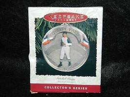 1996 Hallmark Keepsake SATCHEL PAIGE Collectors Xmas Ornament - $14.85