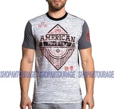 American Fighter Clarkson FM6623 New Men`s Sport Graphic T-shirt By Affliction - $37.95