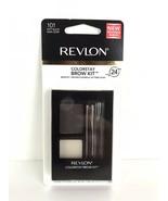 Revlon Colorstay 24Hr Brow Kit #101 SOFT BLACK NEW AND SEALED. - $9.89