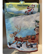 Disney Parks Authentic Mickey Minnie Mouse Tapestry Picture Christmas Tr... - $99.90