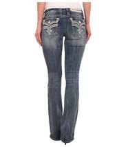 Rock Revival Women's Premium Boot Cut Denim Jeans Pants Manisa B7 Size 25 image 2