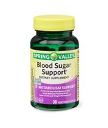 Spring Valley Blood Sugar Support* Vegetarian Capsules, 30 Count..+ - $15.99