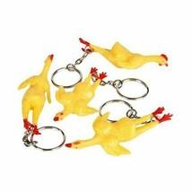 Rubber Chicken Key Chain - $4.78
