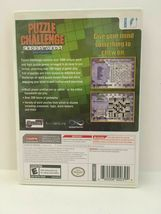 Puzzle Challenge Crosswords and More (Nintendo Wii, 2009) CIB, USA SELLER image 3