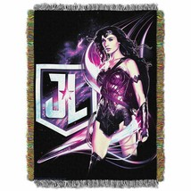 """Justice League """"Wonder Women"""" Woven Tapestry Throw - $44.54"""