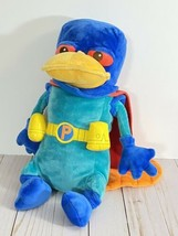 """Phineas & Ferb Mission Marvel Perry the Platypus 15"""" Plush Disney Super Hero Toy - $21.84"""