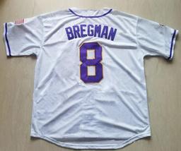 Alex Bregman #8 Baseball Jerseys College Baseball Shirts Hip Hop Stitched - $39.99
