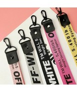 Ribbon Keychain Lanyard Neck Strap Off White Phone Case Women Wallet Key... - $10.83+