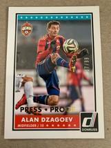 2015 Panini Donruss -  Press Proof Gold #48  Alan Dzagoev #/99 - $1.24