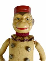"Vintage Katherine's Collection Wayne Kleski 15"" Tall Monkey Bellhop Doll Retired image 2"