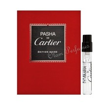 Cartier Pasha Edition Noir Men Eau de Toilette Vial Sample Spray 0.05oz 1.5ml - $4.89