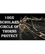 100X 7 SCHOLARS CIRCLE OF THORNS PROTECTION MAGICK WORK MAGICK RING PENDANT - $49.89