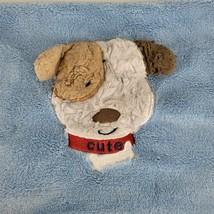 Baby Starters CUTE Puppy Dog Blanket Blue Fleece Lovey Security 30x40 Boy - $39.58
