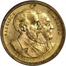 1888 Benjamin Harrison campaign medal DeWitt BH-1888-19 / NGC MS-64 - $235.13