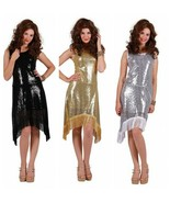 Sequinned Show Dress - 20's / Bond Girl etc  - $42.64