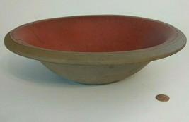 Haeger Serving Bowl 8237 Rust Color Glaze Interior, Stoneware Outside, V... - $24.73