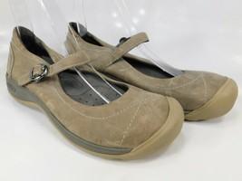 Keen Presidio II MJ Sz US 7 M (B) EU 37.5 Women's Mary Jane Flat Shoes Lt. Brown - $77.95
