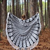 Mandala Tapestry Round Bohemian Beach Yoga Mat Hippie Throw Towel Indian... - £14.91 GBP