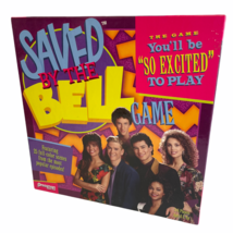Saved by the Bell Exclusive Board Game by Pressman You'll Be So Excited To Play - $14.82