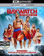 Baywatch (4K Ultra HD + Blu-ray, 2017)
