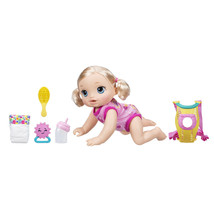 Baby Alive Baby Go Bye Bye: Blonde Hair Doll, Ages 3 and up - $55.13