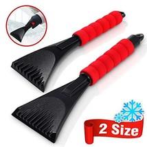 Audew Premium Ice Scraper for Car, Magical Ice Scraper with Foam Handle,Heavy-Du