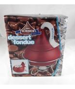 HERSHEY'S KISSES Dessert Milk Chocolate Fondue 2006 Set Model #58930H w/Box - $20.00