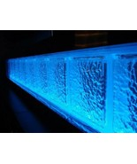 Glass Block LED light kit - all colors and color select by remote or Sma... - £40.03 GBP+