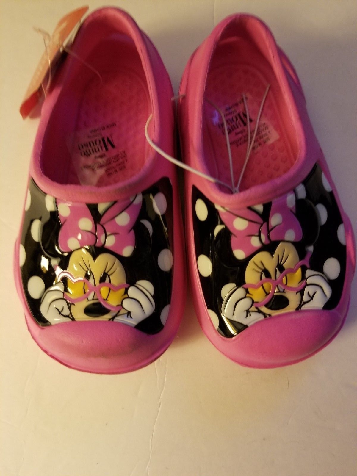 Disney Minnie Mouse Clog - Toddler Girls Size 5/6 7/8 NWT Pink
