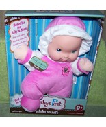 """Goldberger Baby's First Minky So Soft 10.5""""H Baby Doll in Pink New - $15.88"""