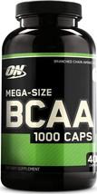 Optimum Nutrition Instantized BCAA Capsules, 400 Count Keto Friendly Bra... - $51.97