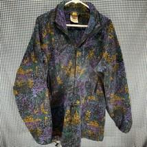 Vintage Made in USA REI Fleece Half Zip Pullover Men's Size Large  - $29.69