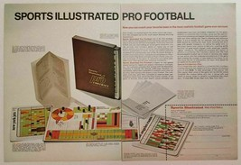 1970 Print Ad Sports Illustrated Pro Football Board Game - $9.78