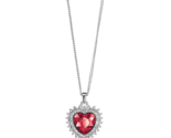 Dazzling heart necklace thumb155 crop