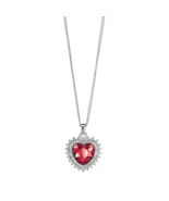 Dazzling heart necklace thumbtall