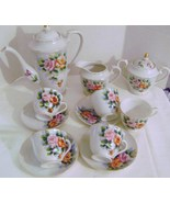 Vintage Floral Japanese Tea Set - $25.00