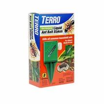 Terro T1812 Outdoor Liquid Ant Killer Bait Stakes 8 Count 0.25 Oz Each - $7.90