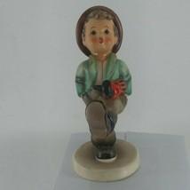 "Goebel Hummel Figurine HAPPY TRAVELER #109/0 TMK3 4-7/8"" tall - $26.14"