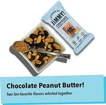 Jimmy! Chocolate Peanut Butter Protein Bars, 18g Protein, Low Sugar, 24 Count image 6