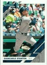 #163 Giancarlo Stanton New York 2019 Panini Donruss MLB Baseball Card AAI - $2.02