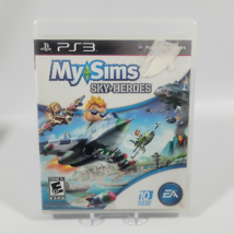 MySims SkyHeroes Playstation 3 PS3 Video Game Complete CIB - $4.99