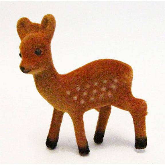 HOLIDAY CRAFT SUPPLY Brown Standing Deer - 3 inches - 1 piece #1625-39