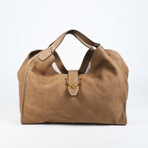 Gucci Large Soft Stirrup Nubuck Hobo Bag - $835.00
