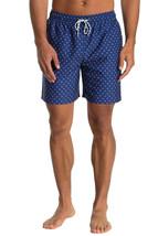 Brooks Brothers Men's Starfish Print Drawstring Swim Trunk, Navy, XL (50... - $49.49