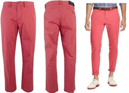 Polo Ralph Lauren Men's Straight-Fit  Chino Pants Nantucket Red  33 x 30 - $54.99