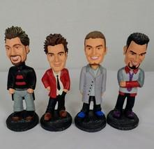 4 NSYNC 2001 Bobble Head Dolls Best Buy Set Timberlake Joey JC Chris - $34.60
