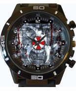 Resident Evil Umbrella Corp New Gt Series Sports Unisex Gift Watch - £27.00 GBP