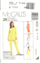 McCall's #8721 Woman's Day Collection Petite-able 2 Hour Separates 14-18 FF - $7.47