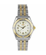 Breitling Wings Two-Tone 18K Gold Stainless Silver 31.5mm D67050 Quartz ... - $1,793.71