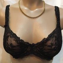 Felina black lace Harlow contour bra 4797 32C NEW - $21.95